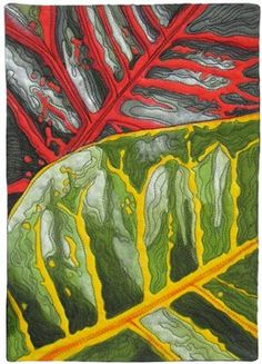 Croton, by Susan Brubaker Knapp. So gorgeous. Featured on Quilting Daily.