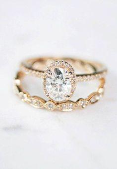 Diamond wedding ring +Oval halo yellow gold engagement ring,oval cut diamond engagement ring