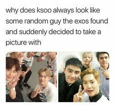 // leave pastor kyungsoo alone Kdrama Memes, Funny Kpop Memes, Exo Memes, Kyungsoo, Chanyeol, K Pop, Exo Ot12, Chanbaek, Exo Facts