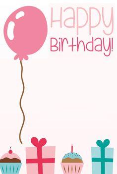 Cute Birthday Wishes, Happy 17th Birthday, Happy Birthday Template, Happy Birthday Quotes For Friends, Happy Birthday Frame, Happy Birthday Wallpaper, Birthday Posts, Birthday Frames, Hello Kitty Birthday