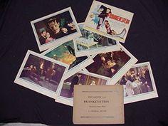 FRANKENSTEIN 1931 * BORIS KARLOFF * MINT LOBBY CARD SET * UNIVERSAL HORROR!! FRANKENSTEIN 1931 * BORIS KARLOFF * MINT LOBBY CARD SET * UNIVERSAL HORROR! This is a SUPER RARE Original Complete MINT Set of Eight 11x14 inch Lobby Cards for James Whale's Classic 1931 Universal Horror film FRANKENSTEIN starring Colin Clive, Mae Clarke, John Boles, Boris Karloff, Edward Van Sloan, Frederick Kerr, Dwight Frye, Lionel Belmore and Marilyn Harris!  #FRANKENSTEIN1931 #Collectibles #Entertainment