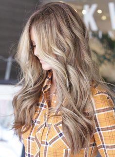 dirty blonde hair