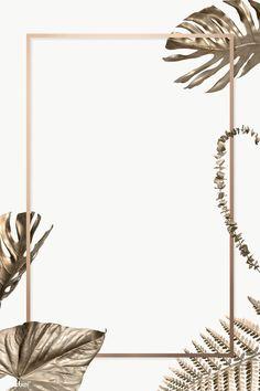 Floral Wallpaper Phone, Gold Wallpaper Background, Free Wallpaper Backgrounds, Poster Background Design, Powerpoint Background Design, Phone Wallpaper Images, Aesthetic Desktop Wallpaper, Leaf Background, Flower Backgrounds