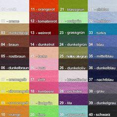 Paspelband, 10 Meter, in  40 Farben, Baumwolle BW braun 04