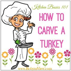 Thanksgiving is coming and you may be getting a list ready and making a plan, but if it is your first time carving the turkey be sure to read these tips on how to carve a turkey. #turkey