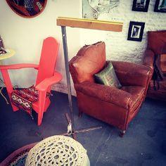 Lámpara#sevenby wabi sabi. Madera hierro dulce y cristal.#decoracion#design#diseño#sevilla #shopping http://wabisabigallery.com