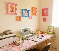 Como ter uma mesa home office linda por apenas R$ 140