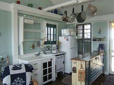 A sweet little cottage kitchen