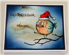 Crazy Bird Christmas by stiz2003 - Cards and Paper Crafts at Splitcoaststampers