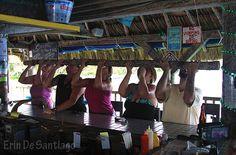Shot Stick at the Palapa Bar in Ambergris Caye, Belize Belize Honeymoon, Belize Travel, Central America, South America, Ambergris Caye, Pumpkin Wedding, Senior Trip, Best Kept Secret, Beach Bars