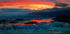 Image result for iceland night