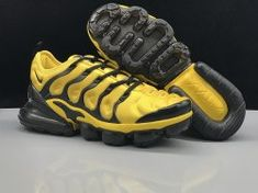 online store ebcd4 b1480 Nike Air Max 270 TN Plus Black Yellow Men s Casual Sneakers