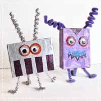 Recycled Aliens Craft