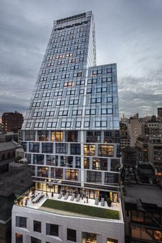 35xv Architect Magazine Fxfowle New York City Ny Multifamily Residential