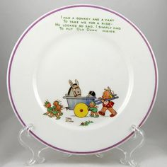 Shelley Mabel Lucie Attwell Nursery Ware Bone China by Ariamel, $165.00