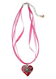 Trachtenkette mit Herzanhänger