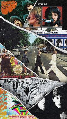 Foto Beatles, Beatles Poster, Les Beatles, Beatles Art, Beatles Photos, Music Wallpaper, Aesthetic Iphone Wallpaper, Cartoon Wallpaper, Iphone Wallpaper Rock
