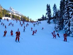 Skiing Santas Invade Crested Butte | Crested Butte Real Estate