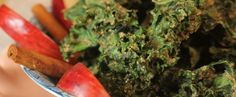 Apple Cinnamon Kale Chips | Fall In Love With Food Again