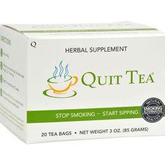 Quit Tea Stop Smoking Tea - 20 Tea Bags - Default Title - Healthy Assorted Teas - Quit Tea #quitsmokingtips