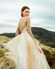 Styled Shoot: Beauty in the Canyons Strictly Weddings, Bridal Gowns, Wedding Dresses, European Fashion, Bridal Collection, Bridal Style, Couture Bridal, Fairytale, Scotland