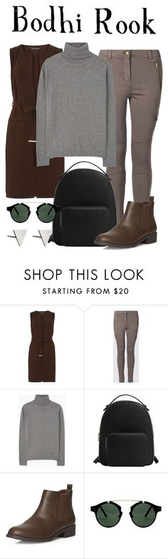 """""""Bodhi Rook / Rogue One: A Star Wars Story"""" by waywardfandoms ❤ liked on Polyvore featuring Dorothy Perkins, MANGO, Spitfire, Rachel Jackson, casual, disneybound, starwars and disneycharacter"""