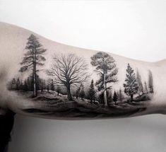 Tree Sleeve Tattoo Ideas