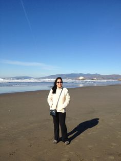 A sunny day in Northern CA... Ocean Beach...  Happy & Healthy