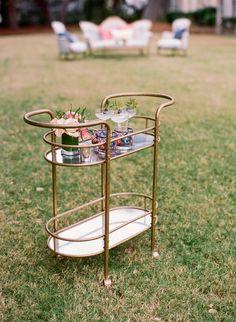 The perfect amount of vintage flare for a beach wedding at Charleston's Island Resort  Isle of Palms, SC #wilddunesweddings