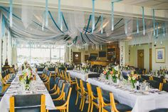 Nautical Yacht Club Harbour Wedding http://www.emmakenny.com/