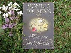 1950s fiction Flowers on the Grass book by Monica by EAGERforWORD, £5.00