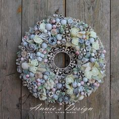 Diy Flowers, Flower Diy, Wreath Crafts, Summer Wreath, Annie, Diy And Crafts, Projects To Try, Easter, Wreaths