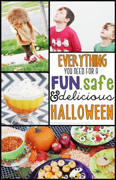 It is Halloween Week at The Happy Gal. You are going to love all of these great tips for a fun, safe and delicious Halloween