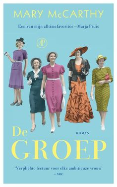 De Groep | Mary McCarthy Roman, Film, Reading, Cover, Books, Movie Posters, Movie, Livros, Movies