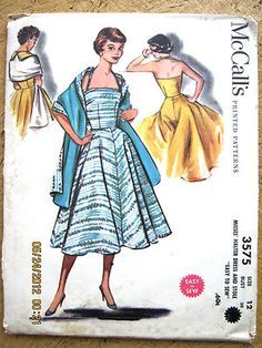 Most people still sewed in the 50's