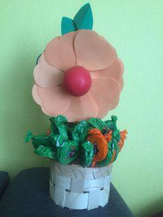 #EOS balsam as flower #30 lolipops as grass #30 birthday