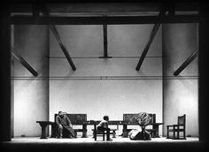VITA DI GALILIEO- 62 Archivio multimediale del Piccolo Teatro di Milano - fotografie bozzetti manifesti