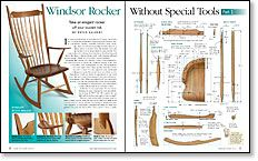 Windsor Rocker Without Special Tools: Part 1