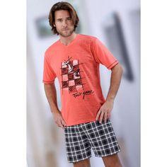 NEW Mens Top Quality Pyjama Set MASSANA Chess board Cotton Pajama Traje Casual, Summer Pajamas, Cotton Pyjamas, Drawing Clothes, Pajama Set, Lounge Wear, Menswear, Mens Fashion, Summer 2014