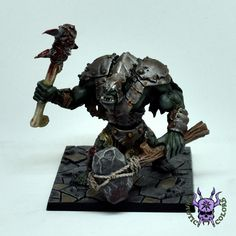 D&D - Troll (by Mantic) #ChaoticColors #commissionpainting #paintingcommission #painting #miniatures #paintingminiatures #wargaming #Miniaturepainting #Tabletopgames #Wargaming #Scalemodel #Miniatures #art #creative #photooftheday #hobby #dungeonsanddragons #dnd #frostgrave #rpg #roleplay #paintingwarhammer  #ageofsigmar #whfb #fantasy #warhammerfantasy #Kingsofwar #kow #kingsofwarvanguard #mantic #dungeonsaga #troll Warhammer Fantasy, Warhammer 40k, Dungeons And Dragons, Age Of Sigmar, Tabletop Games, Troll, Miniatures, Drawings, Creative