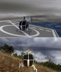 New Landing Gear could revolutionize where Helicopters Land  , - ,   DARPA's new bril...