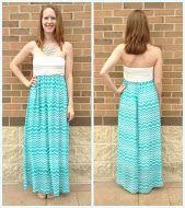 Blue and white maxi dress. #comfort #summertime #apricotlane #maxigalore