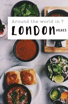 Around the world in 7 London meals - Best international food in London  Visit http://travelwithmeraki.com/ for more travel tips