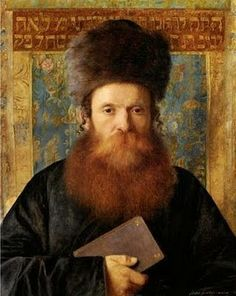 """Portrait of a Rabbi,"" Isidor Kaufmann (1853-1921)"