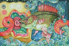 'The Colors of the Underwater World I' by NOVICA