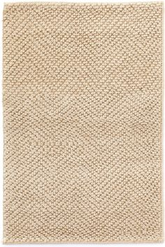 Dash & Albert | Nevis Sand Jute Woven Rug | It%27s easy to act natural with our eco-friendly, woven jute rugs in five earthy hues.