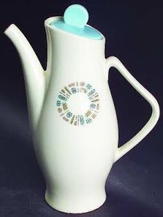 'Temporama' pattern by Canonsburg Pottery