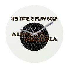 Time 2 Golf Frameless Wall Clock > TIME 2 PLAY GOLF > glorialhenny