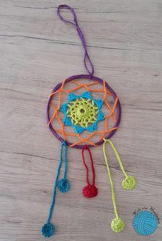 Dream Catcher, Crochet Necklace, Jewelry, Decor, Tutorials, Crochet Rings, Metal Ring, Dreamcatchers, Jewlery