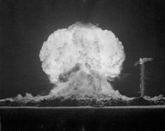 "The ""Boltzmann"" nuclear test at the Nevada Test Site, May 28, 1957, part of Operation Plumbbob. (Department of Energy)"